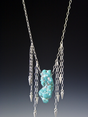 Riders on the Storm Turquoise Necklace