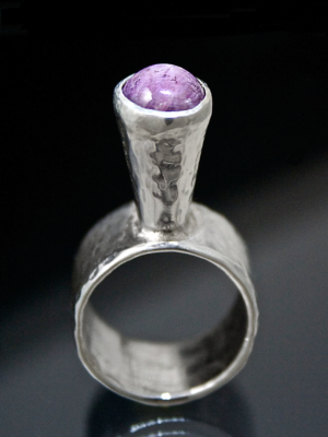 Elevated Star Sapphire Ring