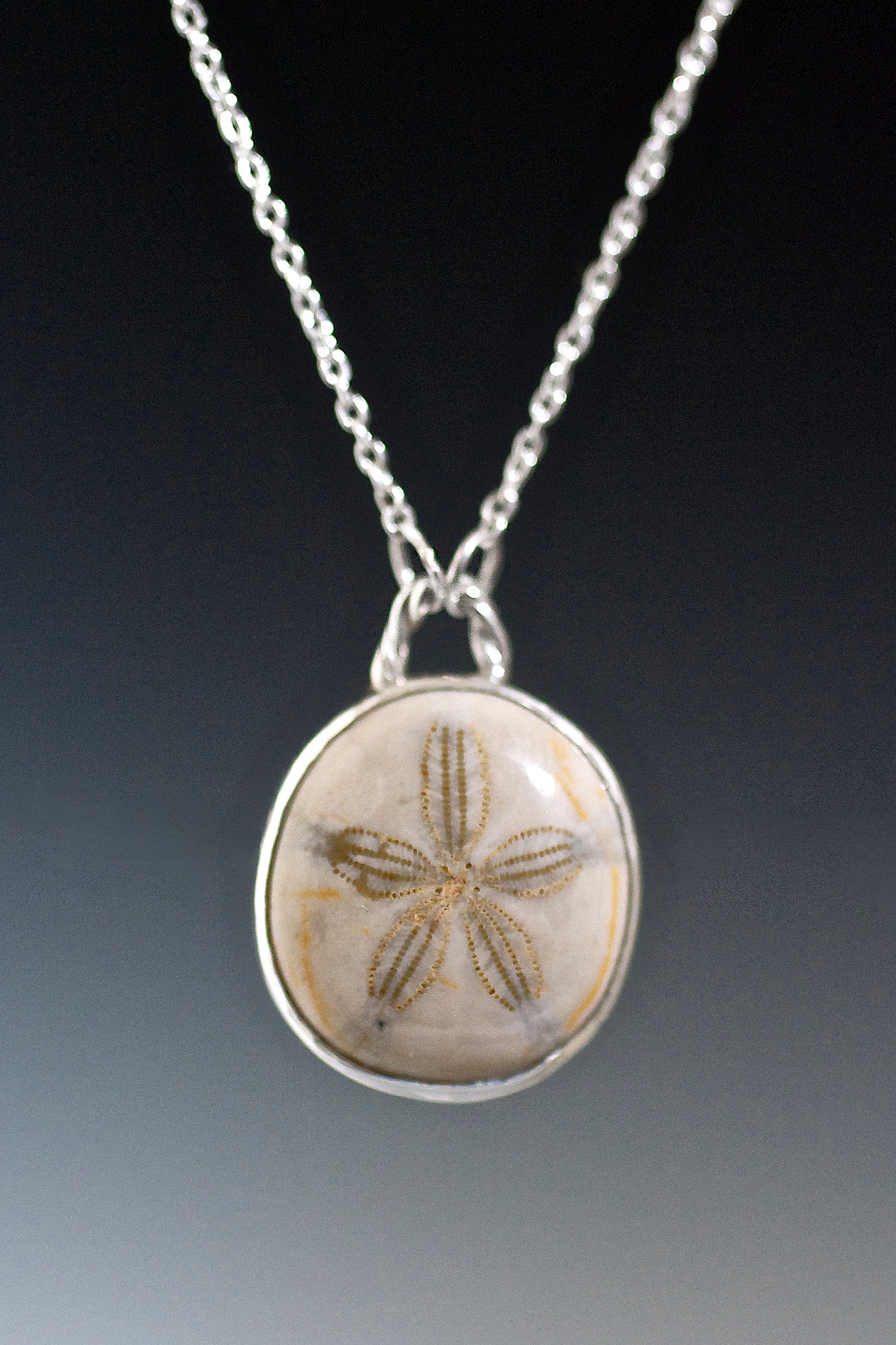cross sandcross silver in kuriosities dainty sterling sand necklace